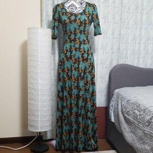 Lularoe Ana Maxi Floral Dress